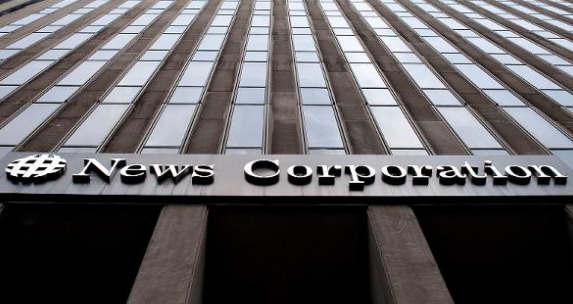 新闻集团公布第四季度盈利受到打击