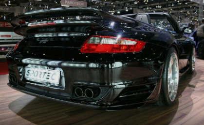 基于保时捷911的Sportec SP600在日内瓦展出