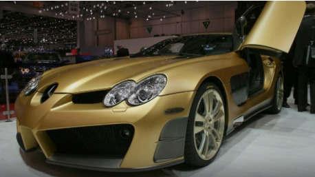 MANSORY Renovatio基于梅赛德斯奔驰麦克拉伦SLR