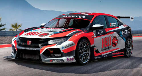 为KCMG的WTCR本田Civic Type R TCR揭示了Livery