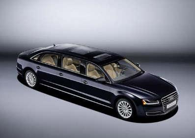 奥迪A8 L加长型令人满意的从工厂特别订购