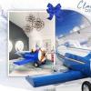 创建具有PANTONE经典蓝色的时尚儿童卧室设计