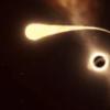 黑洞撕裂恒星瞬间 太震撼了