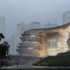 扎哈·哈迪德建筑师揭幕新深圳科技馆